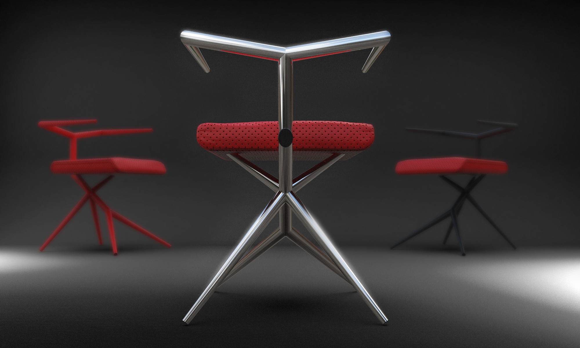 Timany Chair - Designed by Roland Hangyel in Debrecen, Hungary